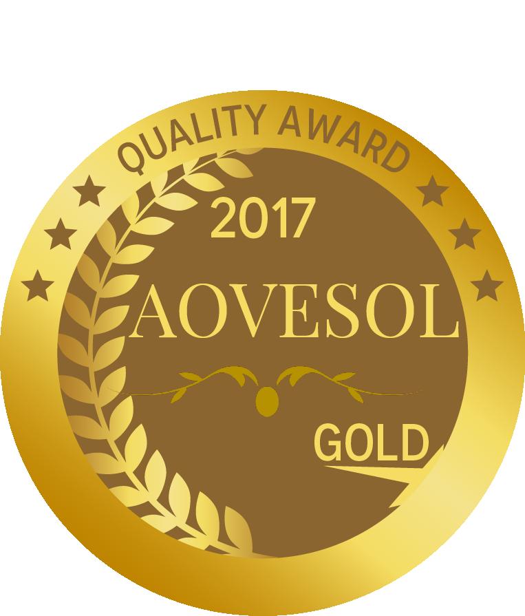 Medalla Oro AOVE 100 caños