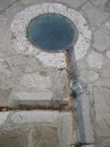 canales tallados en el suelo